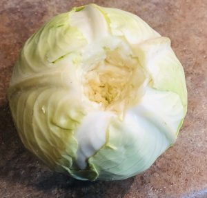Cabbage with no core