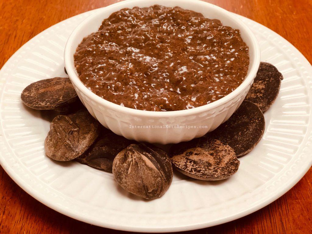 Keto Champorado (Chocolate Chia Seeds Pudding)