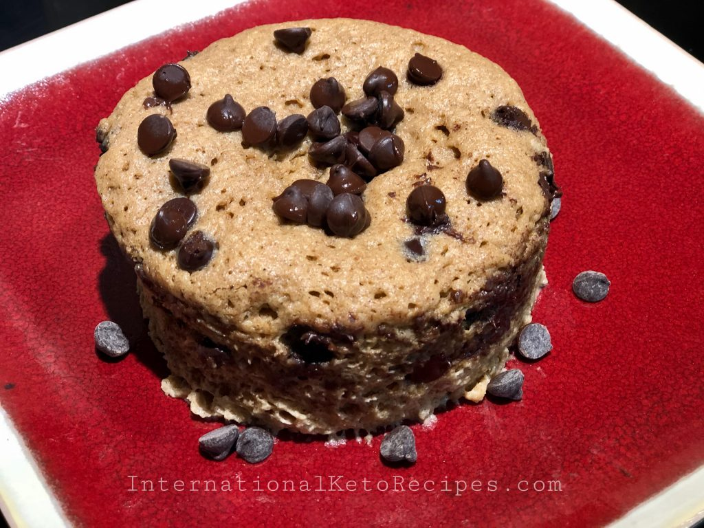 90 Seconds Keto Flaxseed Chocolate Muffin